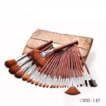 24 Piece Synthetic Professional Makeup Brushes with Brush Kit